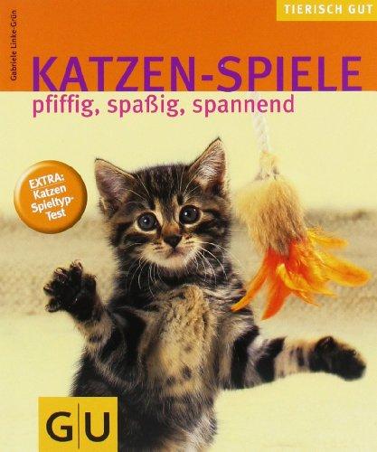Katzen-Spiele: pfiffig, spaßig, spannend  Extra: Katzen-Spieltyp-Test