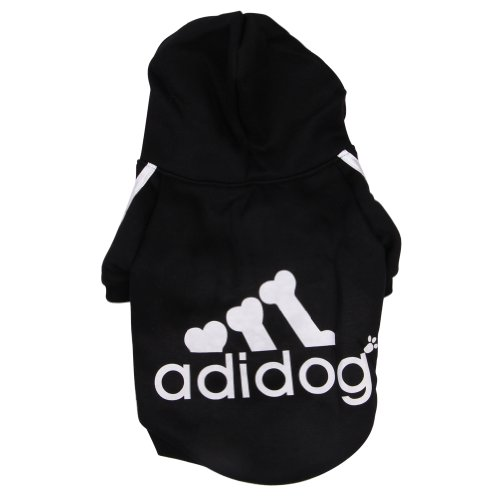 Freefisher Hundemantel Adidog Style (Schwarz, S)