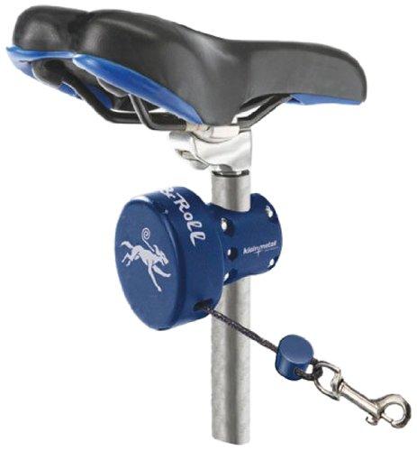 KLEINMETALL 80680009 Dog&Roll Automatische Leine für Hunde Fahrrad