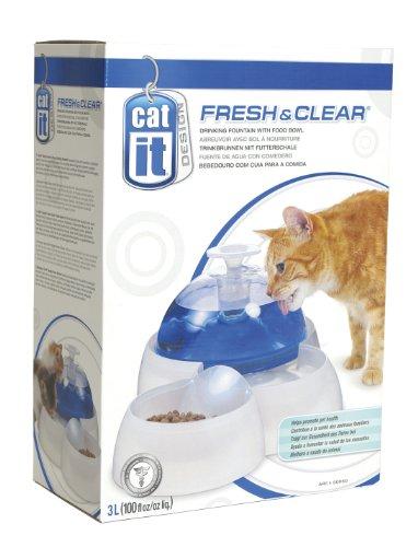 """Catit 50050 Trinkbrunnen """"Fresh & Clear"""" – Water Fountain für Katzen und kleine Hunde"""